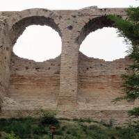 Cesena, rocca malatestiana, fossato, mura 02 - Sailko - Cesena (FC)