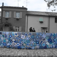 Urban knitting - Zymetil - Cesenatico (FC)