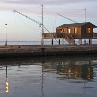 Capanno da pesca sul porto canale - Marco della pasqua - Cesenatico (FC)