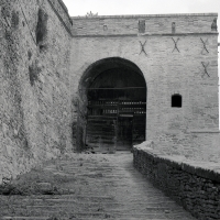 Scalinata e ingresso - Nurris Barucci - Meldola (FC)