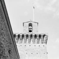 Particolare della Torre - Nurris Barucci - Meldola (FC)