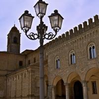 Prospettiva sul palazzo Comunale - Caba2011 - Bertinoro (FC)
