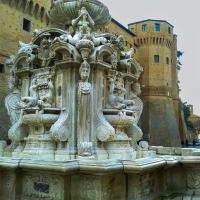 Fontana Masini in Piazza del Popolo - Soniatiger - Cesena (FC)