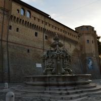 Fontana Masini con vista del comune - Gloria Molari - Cesena (FC)