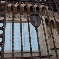 Parco della Rimembranza - cancello di ingresso - Sivyb - Cesena (FC)