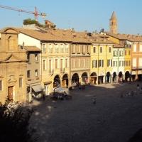 Piazza del popolo - vedta dall'alto - Sivyb - Cesena (FC)