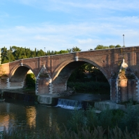 Ponte Vecchio vista dall'argine sinistro - Gloria Molari - Cesena (FC)