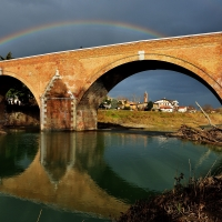 L'iride sul ponte - Masarot - Cesena (FC)