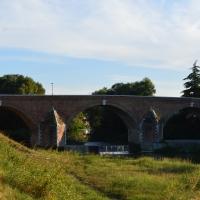 Ponte Vecchio vista dall'argine destro - Gloria Molari - Cesena (FC)
