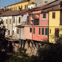 Ponte di San Martino - particolare case - Sivyb - Cesena (FC)