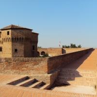 Rocca malatestiana - i camminamenti delle mura - Sivyb - Cesena (FC)