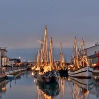 Presepe nel porto canale - Paola Focacci - Cesenatico (FC)