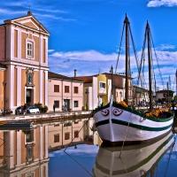La chiesa sul portocanale di Leonardo - Caba2011 - Cesenatico (FC)