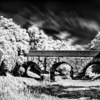 Ponte consolare sul fiume Rubicone infrared - Andrea.casadei77 - Savignano sul Rubicone (FC)