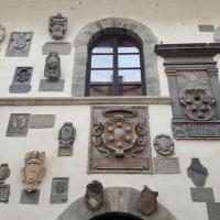 Palazzo del Capitano. Stemmi - Marco Musmeci - Bagno di Romagna (FC)