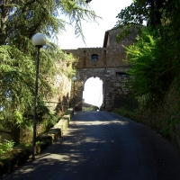 Rocca di Castrocaro Porta d'ingresso prima cinta muraria - Clawsb - Castrocaro Terme e Terra del Sole (FC)