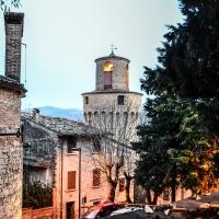CASTROCARO TERME-Torre dell'OrologioDSC 8092 - Flash2803 - Castrocaro Terme e Terra del Sole (FC)