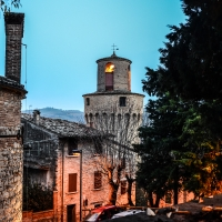 CASTROCARO TERME-Torre dell'OrologioDSC 8091 - Flash2803 - Castrocaro Terme e Terra del Sole (FC)