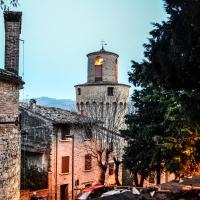 CASTROCARO TERME-Torre dell'OrologioDSC 8086 - Flash2803 - Castrocaro Terme e Terra del Sole (FC)