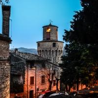 CASTROCARO TERME-Torre dell'OrologioDSC 8085 - Flash2803 - Castrocaro Terme e Terra del Sole (FC)