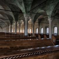 Scorcio dell'interno della biblioteca Malatestiana - Stefano Zagnoli - Cesena (FC)