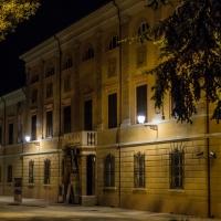 Biblioteca facciata - notturna 2 - Boschetti marco 65 - Cesena (FC)