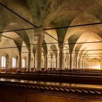 Biblioteca Malatestiana aula del Nuti, Cesena - Davide Contenti - Cesena (FC)