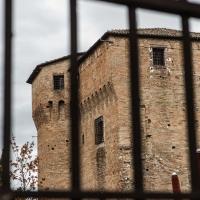 Parco della Rimembranza dalle sbarre del cancello - Boschetti marco 65 - Cesena (FC)