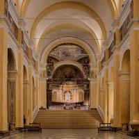 Veduta interna verso l'altare - Boschetti marco 65 - Cesena (FC)