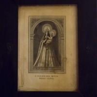 Santino raffigurante la Beata Vergine Maria del Monte - Boschetti Marco 65 - Cesena (FC)