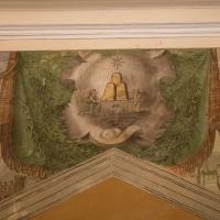 Affresco sopra ingresso principale Basilica del Monte - Boschettim65 - Cesena (FC)