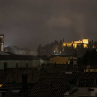 La Rocca Malatestiana durante un temporale - Boschetti marco 65 - Cesena (FC)