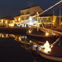 Marineria in notturna - Benito.Pierazzoli - Cesenatico (FC)