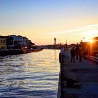 Piazza Spose dei Marinai e Canale - Flash2803 - Cesenatico (FC)