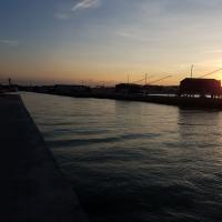 20160902 193300 tramonto sui fari di ponente 10 - Benedetta78 - Cesenatico (FC)