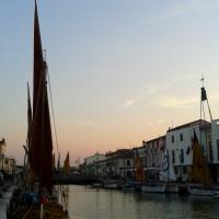 Tramonto al canale - Elpo81 - Cesenatico (FC)