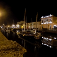 Canale di notte - Elpo81 - Cesenatico (FC)