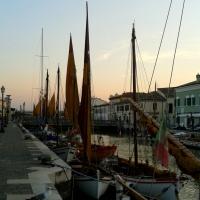 Navi al tramonto - Elpo81 - Cesenatico (FC)