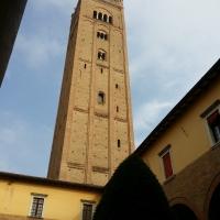 La Torre della Basilica di San Mercuriale, vista dal chiostro - Chiari86 - Forlì (FC)