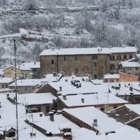Palazzo Pretorio sotto la neve - Patrizia Diamante - Modigliana (FC)