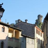 Rocca dei Conti Guidi vista dall'ingresso della Tribuna - Patrizia Diamante - Modigliana (FC)