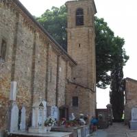 Pieve di San Giovanni in Compito Vista posteriore - Clawsb - Savignano sul Rubicone (FC)