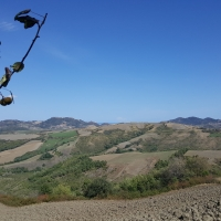 Panorama da lontano 04 - Marco Musmeci - Borghi (FC)