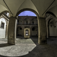 Corte interna Palazzo Pretorio - Stefano Micheli - Castrocaro Terme e Terra del Sole (FC)