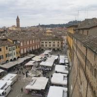 Piazza del popolo vista dal torrione - Boschettim65 - Cesena (FC)