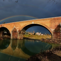 Ponte Clemente conosciuto come Ponte Vecchio - Masarot - Cesena (FC)
