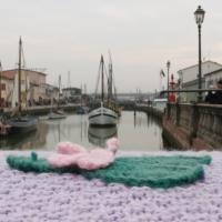 Porto canale di Cesenatico, uncinetto - Samuele Gregori - Cesenatico (FC)