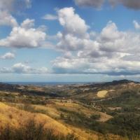 Panorama dalla Sorgente verso il mare 2 - Boschetti Marco 65 - Savignano sul Rubicone (FC)