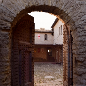 Rocca di Castrocaro - Porta corazzata foto di: Elio Caruso - autore