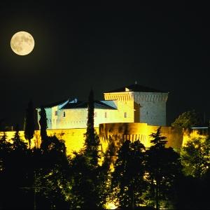 Rocca Malatestiana - Rocca Malatestiana Cesena- notturna foto di: |Archivio Uff. Prom.Turistica Comune di Cesena| - Archivio Uff. Prom.Turistica Comune di Cesena